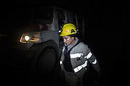 Valentina Zurru arriva sul luogo di estrazione a quasi -500