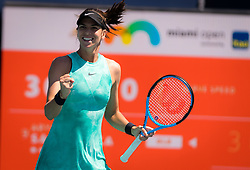 March 22, 2019 - Miami, FLORIDA, USA - Ajla Tomljanovic of Australia in action during the second-round at the 2019 Miami Open WTA Premier Mandatory tennis tournament (Credit Image: © AFP7 via ZUMA Wire)