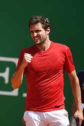 April 17, 2018 - Los Angeles, Monaco - Gilles Simon (Credit Image: © Panoramic via ZUMA Press)