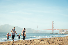 Burns Family Photos | Baker Beach San Francisco