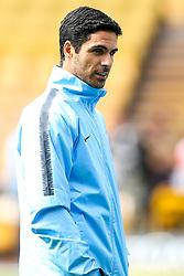 Manchester City coach Mikel Arteta - Mandatory by-line: Robbie Stephenson/JMP - 25/08/2018 - FOOTBALL - Molineux - Wolverhampton, England - Wolverhampton Wanderers v Manchester City - Premier League