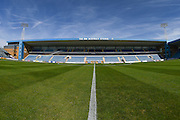 Priesfield stadium before  the EFL Sky Bet League 1 match between Gillingham and Coventry City at the MEMS Priestfield Stadium, Gillingham, England on 24 September 2016. Photo by Martin Cole.
