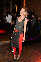 POPPY DELEVINGNE at the YSL Beauty: YSL Loves Your Lips party held at The Boiler House,The Old Truman Brewery, Brick Lane,London on 20th January 2015.