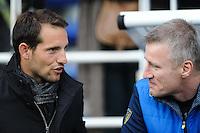 Renaud Lavillenie / Neil McILROY - 14.12.2014 - Clermont / Munster - European Champions Cup <br /> Photo : Jean Paul Thomas / Icon Sport