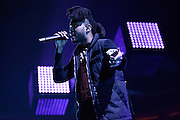 "Photos of The Weeknd performing live for ""The Madness Fall Tour"" at Prudential Center in Newark, NJ on November 11, 2015. © Matthew Eisman/ Getty Images. All Rights Reserved"