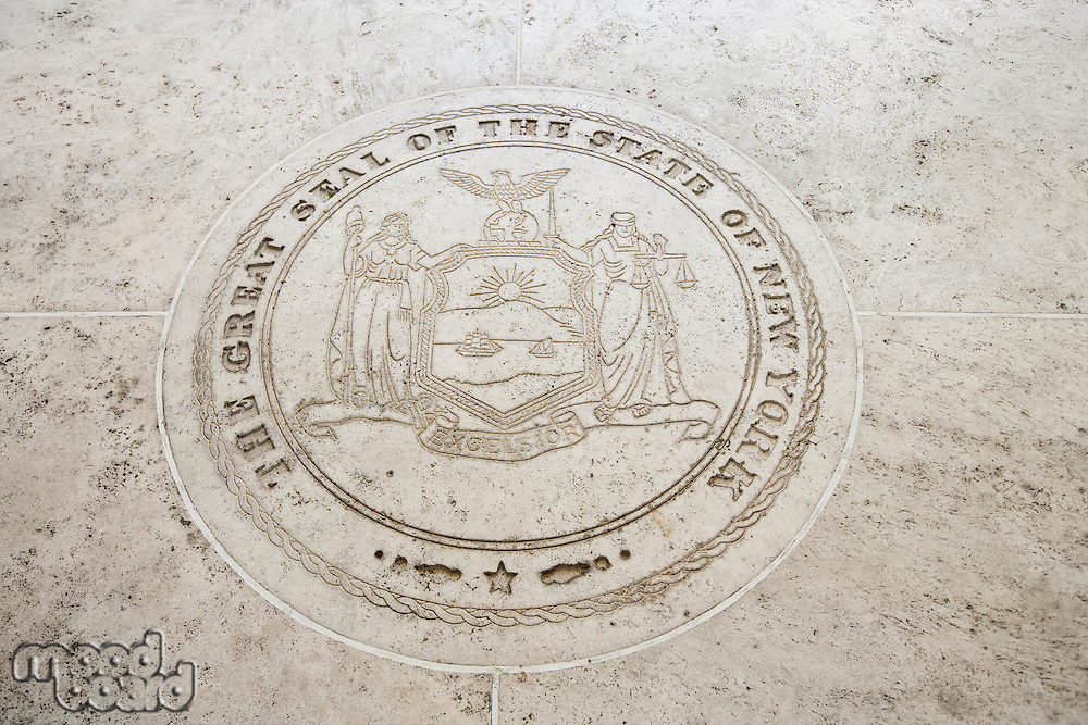 Seal of New York in Fort Bonifacio; Manila; Philippines