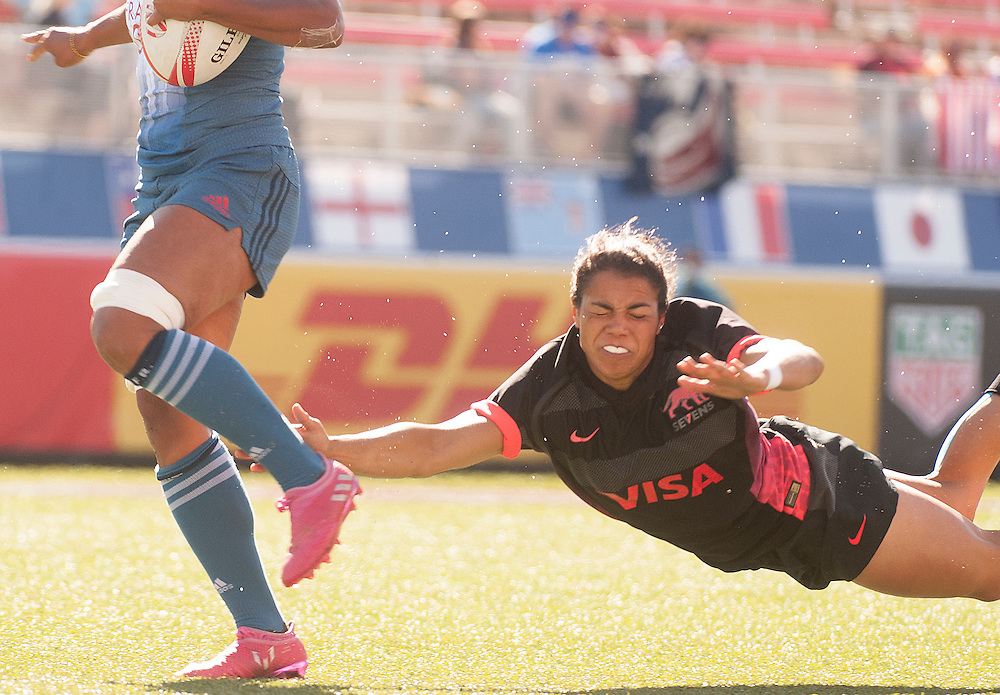 Women's teams take part in pool play for the USA Sevens,  Round Three of the Womans World Rugby HSBC Sevens Series in Las Vegas, Nevada, March 3, 2017. <br /> <br /> Jack Megaw for USA Sevens.<br /> <br /> www.jackmegaw.com<br /> <br /> jack@jackmegaw.com<br /> @jackmegawphoto<br /> [US] +1 610.764.3094<br /> [UK] +44 07481 764811