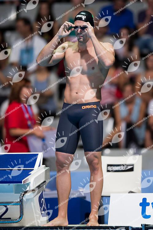 Marco Orsi ITA<br /> Men's 50m freestyle heats<br /> 15th FINA World Aquatics Championships<br /> Palau Sant Jordi, Barcelona (Spain) 02/08/2013 <br /> &copy; Giorgio Perottino / Deepbluemedia.eu / Insidefoto