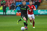 Forest Green Rovers Dayle Grubb(8) during the EFL Sky Bet League 2 match between Crewe Alexandra and Forest Green Rovers at Alexandra Stadium, Crewe, England on 27 April 2019.