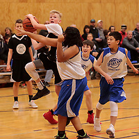 Catch & Shoot defeats Hillsboro 66-16 during the Capitial City Classic at Sprague High School on Sunday Dec. 10, 2017. (Photo by Timothy J. Gonzalez)