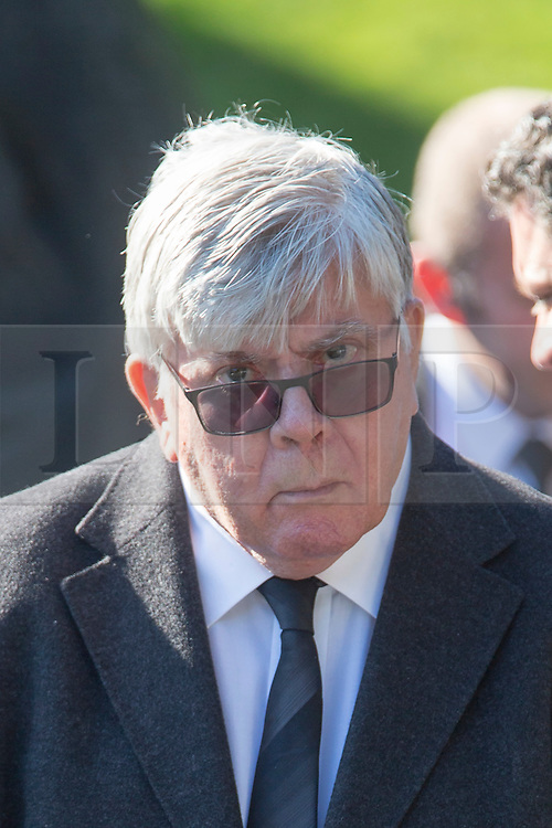 © Licensed to London News Pictures. 30/09/2015. Leeds, UK. Picture shows former JJB boss David Jones. A Remembrance service has taken place for former Yorkshire & England cricket captain Brian Close. Mr Close died at his home in Baildon aged 84 after a long battle with cancer. Photo credit: Andrew McCaren/LNP