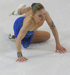 25.01.2011, Postfinance Arena, Bern, Eiskunstlauf EM 2011, im Bild Damen  Qualifikation Kur  Martina Bocek (CZE) .// during the European Figure Skating Championships 2011, in Bern, Switzerland, EXPA Pictures © 2011, PhotoCredit: EXPA/ EXPA/ Newspix/ Manuel Geisser +++++ ATTENTION - FOR AUSTRIA/ AUT, SLOVENIA/ SLO, SERBIA/ SRB an CROATIA/ CRO, SWISS/ SUI and SWEDEN/ SWE CLIENT ONLY +++++
