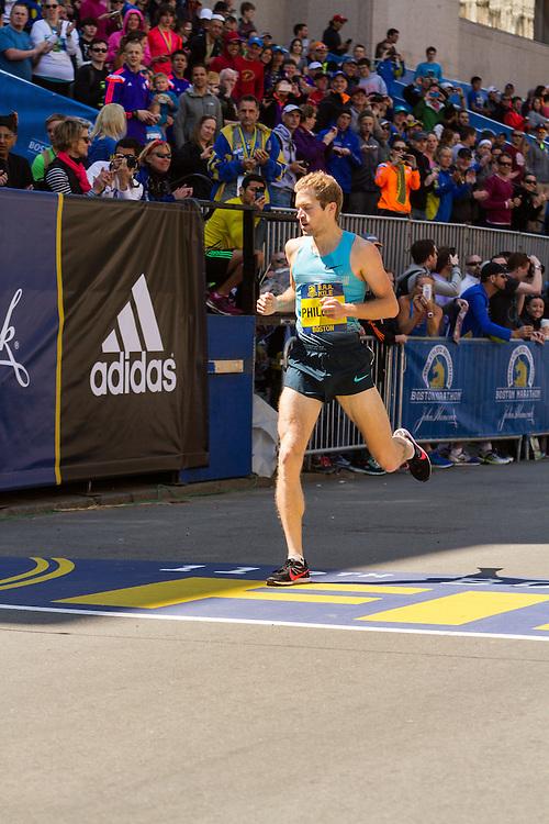 Boston Marathon: BAA 5K road race, Invitational Mens Mile, Duncan Phillips