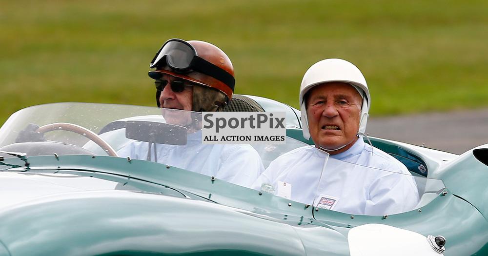 GOODWOOD REVIVAL....Sir Stirling Moss on demonstration laps...(c) STEPHEN LAWSON | SportPix.org.uk