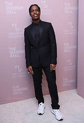 September 15, 2018 - New York City, New York, USA - 9/13/18.ASAP Rocky at Rihanna''s 4th Annual Diamond Ball held at Cipriani Wall Street in New York City..(NYC) (Credit Image: © Starmax/Newscom via ZUMA Press)