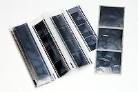 Bilde av sorthvitt negativer.<br /> Foto: Svein Ove Ekornesvåg