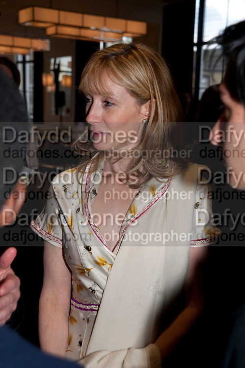 ROS O'SHAUGHNESSY, Literary charity First Story fundraising dinner. Cafe Anglais. London. 10 May 2010. *** Local Caption *** -DO NOT ARCHIVE-© Copyright Photograph by Dafydd Jones. 248 Clapham Rd. London SW9 0PZ. Tel 0207 820 0771. www.dafjones.com.<br /> ROS O'SHAUGHNESSY, Literary charity First Story fundraising dinner. Cafe Anglais. London. 10 May 2010.