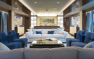 An interior of the Sunseeker 131.<br />