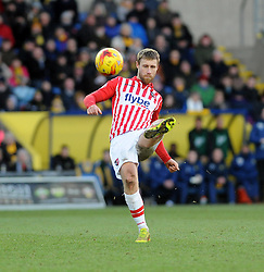 Exeter City's David Noble  - Photo mandatory by-line: Neil Brookman/JMP - Mobile: 07966 386802 - 24/01/2015 - SPORT - Football - Oxford - Kassam Stadium - Oxford United v Exeter City - Sky Bet League Two