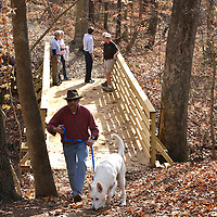 Seven Oaks Preserve ribbon cutting and hike
