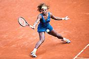 Paris, France. Roland Garros. June 2nd 2013.<br /> American player Serena WILLIAMS against Roberta VINCI