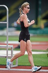 Olympic Trials Eugene 2012: women's 20,000 meter race walk, Joanne Dow