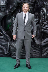 © Licensed to London News Pictures. 04/05/2017. London, UK. NATHANIEL DEAN attends the Alien: Covenant world film premiere. Photo credit: Ray Tang/LNP