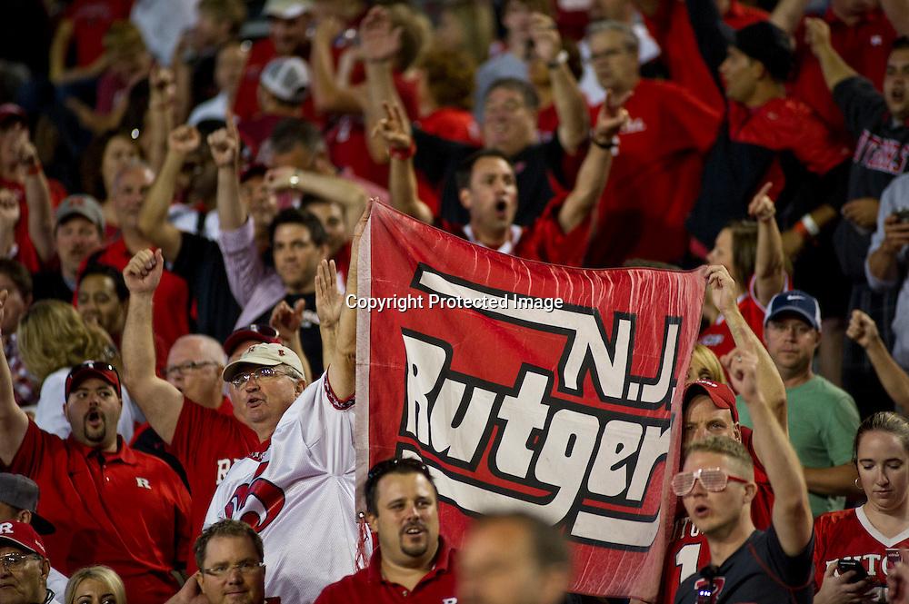 Arkansas Razorbacks vs. Rutgers Scarlet Knights on Saturday, Sept. 22, 2012, in Fayetteville, Ark.