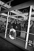 22/10/1963<br /> 10/22/1963<br /> 22 October 1963<br /> R.D.S. Scientific Exhibition opens. Irish Shipping stand at the exhibition. Minister for Transport and Power Mr. Erskine Childers on left.