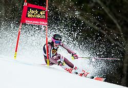 "Frida Hansdotter (SWE) competes during 1st Run of the FIS Alpine Ski World Cup 2017/18 5th Ladies' Giant Slalom race named ""Golden Fox 2018"", on January 6, 2018 in Podkoren, Kranjska Gora, Slovenia. Photo by Ziga Zupan / Sportida"
