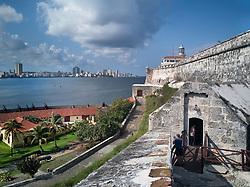 Morro castle in Havana, Cuba.