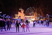 Hyde Park Winter Wonderland Christmas 2008 in London England