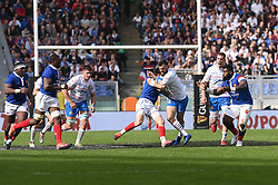 March 16, 2019 - Rome, Italy - Jayden Hayward during RBS Six Nations Rugby Championship, Italia v Francia at the Olympic Stadium in Rome, on march 16, 2019  (Credit Image: © Silvia Lore/NurPhoto via ZUMA Press)