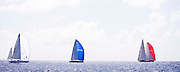 Athos, Symmetry, and Bequia sailing in the St. Barth's Bucket Regatta, day three.