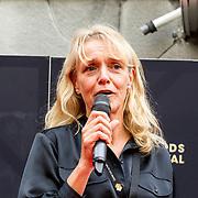 NLD/Utrecht/20180928 - Onthulling Gouden Tegels NFF, directeur NFF Silvia van der Heiden