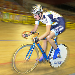 ALKMAAR (NED) wielrennen<br /> NK Baanwielrennen ; vrouwen; ; scratch