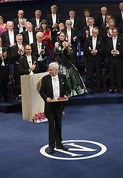 Nobelpreisverleihung 2016 in der Konzerthalle in Stockholm / 101216 ***Bengt Holmstrˆm, The Sveriges Riksbank Prize in Economic Sciences <br />  ***The annual Nobel Prize Award Ceremony at The Concert Hall in Stockholm, December 10th, 2016***