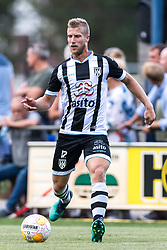 Wout Droste of Heracles Almelo during the Pre-season Friendly match between Heracles Almelo and Fiorentina at Sportpark Wiesel  on August 01, 2018 in Wenum-Wiesel , The Netherlands