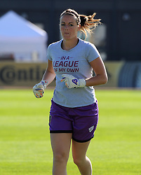 Bristol Academy's Hannah Reid warms up before the FA Women's Super League game between Bristol Academy Women and Sunderland AFC Ladies on 25 July 2015 in Bristol, England - Mandatory by-line: Paul Knight/JMP - 25/07/2015 - SPORT - FOOTBALL - Bristol, England - Stoke Gifford Stadium - Bristol Academy Women v Sunderland AFC Ladies - FA Women's Super League