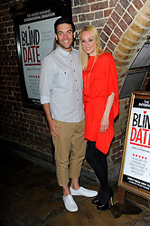 Kevin Sacre & Camilla Dallerup during Blind Date - press night, Charing Cross Theatre,  London, United Kingdom, 04 June 2013. Photo by Chris Joseph / i-Images.