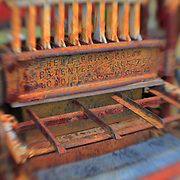 Brick Press - Pottsville - Merlin, Oregon - Lensbaby