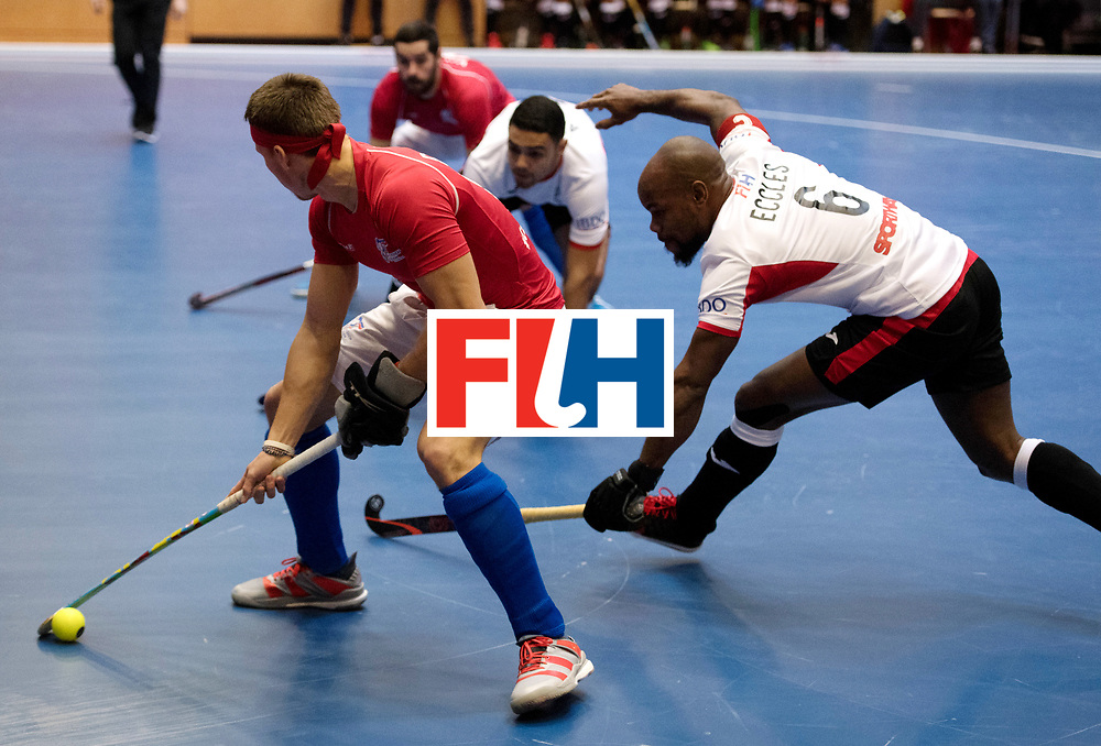 BERLIN - Indoor Hockey World Cup<br /> Czech Republic - Trinidad &amp; Tobago<br /> foto: Solomon Eccles.<br /> WORLDSPORTPICS COPYRIGHT FRANK UIJLENBROEK