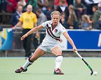 UTRECHT -  Ingrid Wolff  tijdens de finale Veteranen hoofdklasse A dames tussen Kampong en Amsterdam. Kampong wint na shoot out. COPYRIGHT KOEN SUYK