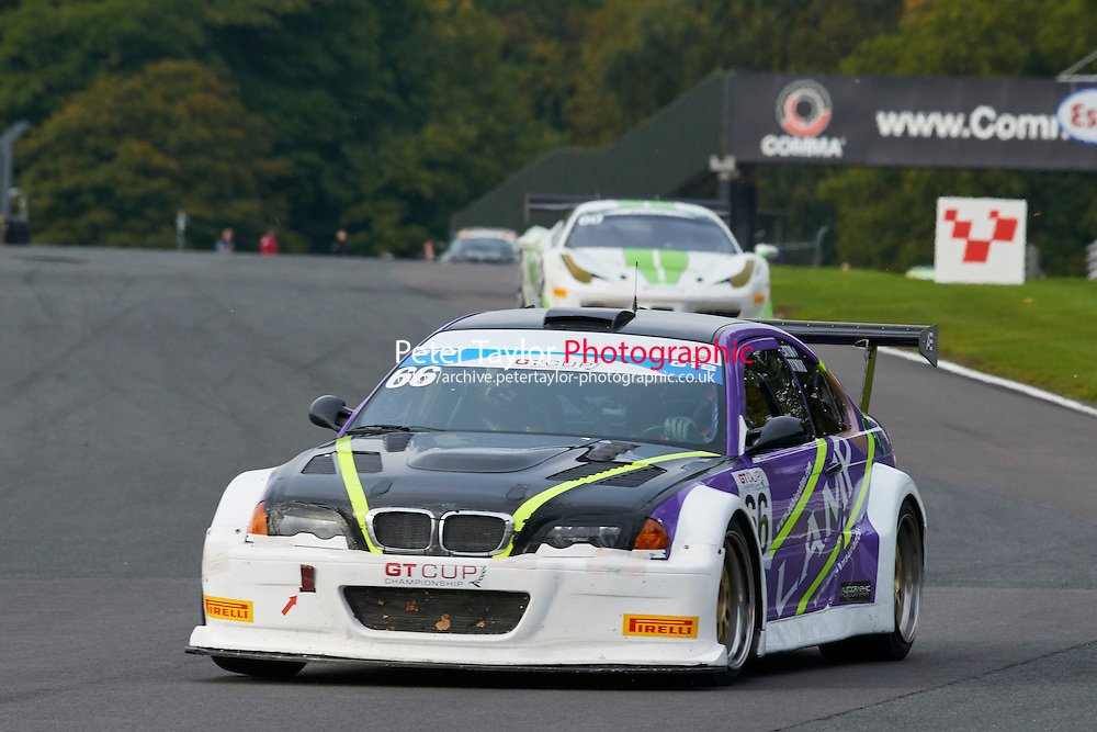 #66 Michael SYMONS  BMW M3 V8 GTR during GT Cup - Race 2 as part of the MSVR Oulton Park 10th October 2015 at Oulton Park, Little Budworth, Cheshire, United Kingdom. October 10 2015. World Copyright Taylor/PSP. Copy of publication required for printed pictures.  Every used picture is fee-liable.