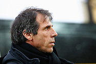 Picture by David Horn/Focus Images Ltd +44 7545 970036<br /> 14/12/2013<br /> Gianfranco Zola , Head Coach of Watford looks on during the Sky Bet Championship match at Vicarage Road, Watford.
