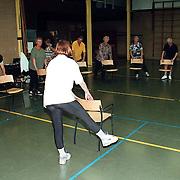 Gym voor hartpatienten Ploegweg Huizen met nieuwe stoelen