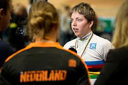 , NED, Podium 500m TT, 2015 UCI Para-Cycling Track World Championships, Apeldoorn, Netherlands