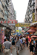Asia, Southeast, People's Republic of China, Hong Kong, Street market