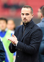 Mark Sampson, Manager of England Women - Photo mandatory by-line: Paul Knight/JMP - Mobile: 07966 386802 - 29/11/2015 - SPORT - Football - Bristol - Ashton Gate Stadium - England v Bosnia and Herzegovina - Euro 2017