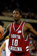 25 November 2005: USC senior forward, Rocky Trice, in the South Carolina 62-56 victory over Monmouth University at the Great Alaska Shootout in Anchorage, Alaska